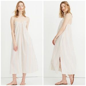 Madewell Tie-strap Coverup Maxi Dress NWT